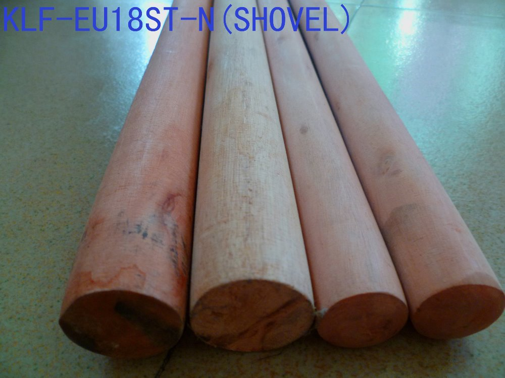 Plain wooden shovel handle/plain wooden shovel pole/plain wooden shovel stick