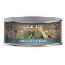 By Nature Organic Chicken Mackerel Canned Cat Food 24/5.5 oz