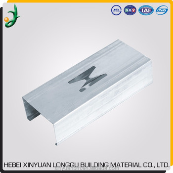 Cold Formed C Stud U Track Drywall Partition