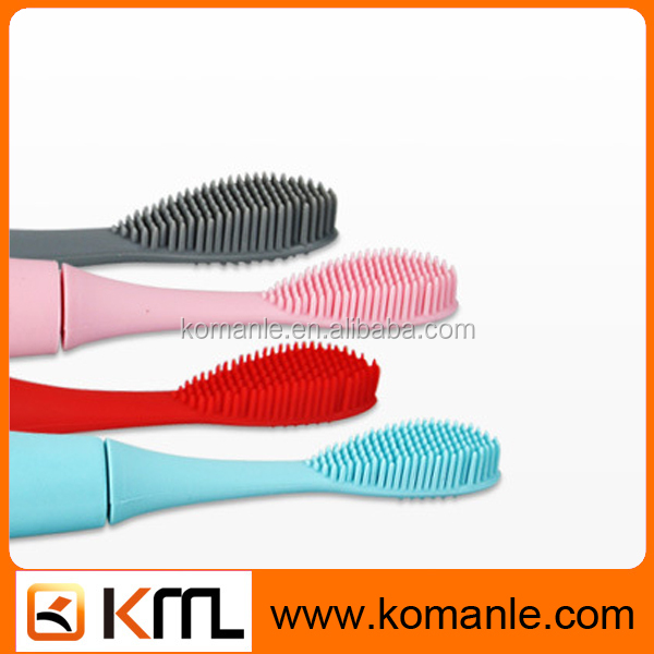 New products innovative product personalized Silicone home Toothbrush adult pink sonic Electric Toothbrush