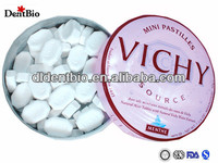 Sugar free sweet mints mini candy mini pastillets tablet manufacturer sugar free xylitol mints candy