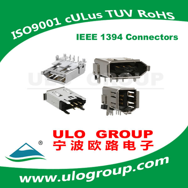 Contemporary Discount Ieee 1394 Connectors 6p Socket R/A Manufacturer & Supplier - ULO Group