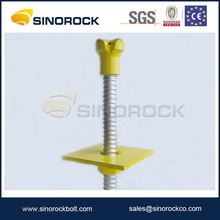 SINOROCK tunneling construction SDA hollow drilling coal mine rock anchor roof bolt