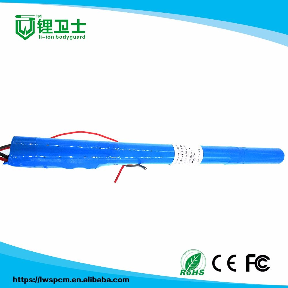 High Quality Volume Produce 1800mah 6v 3000mah 36volt rechargeable battery pack