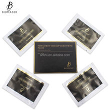 High Quality 12pcs/ lot Eyebrow Lip Permanent Makeup Tattooing Numbing Paste