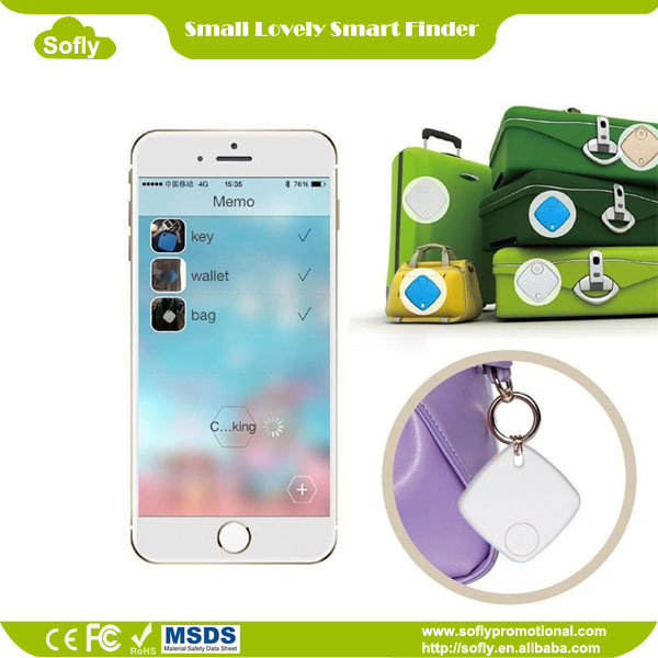 Key & Cell Phone Finder, Kids & Pets Anti-lost, Voice Recording, Selfie Shutter for iPhone iPad iPod Samsung