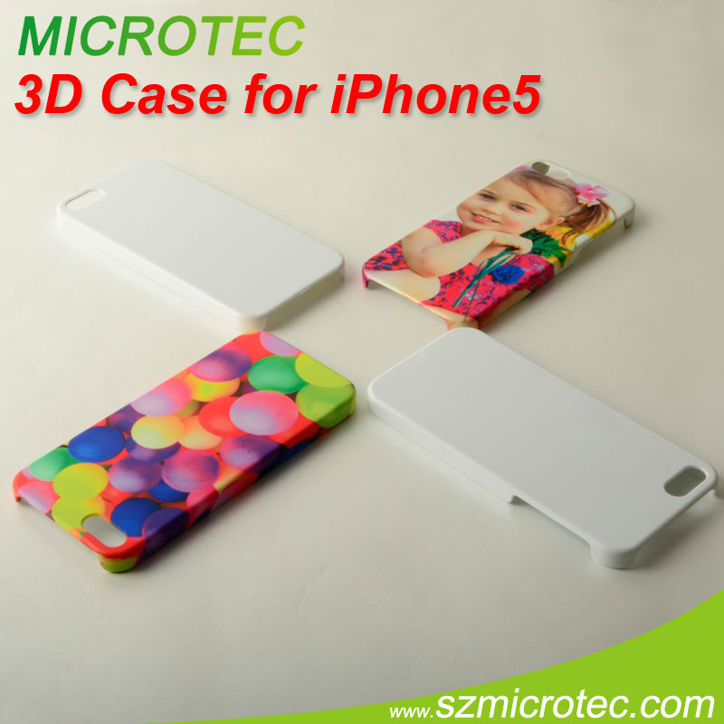 for iphone 5 3d sublimation mobile phone case OEM/ODM,Common case are available