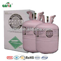 popular brand 99.99% purity domestic refrigeration and automobile air conditioners cooling refrigerant gas R410a