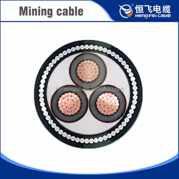 STW Steel Wire Armoured Mining Power Cable