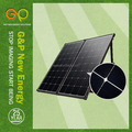 160W portable solar charging station