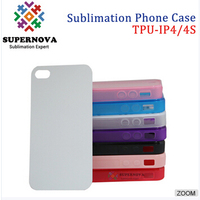Custom Sublimation Cell Phone Case, 2D Sublimation Phone Cases for iPhone 4/4s