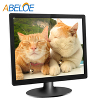 Hot Sales!! 2016 newest design best quality 15/17/19/21.6/23.6/24/26 inch tft bulk LCD computer Monitor with VGA
