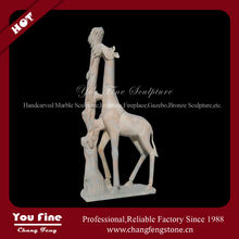 Stone Large Decorative Giraffe Statues For Sale