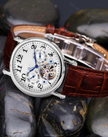hot sell seagull automatic movement with flying wheel watches for men