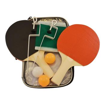 table tennis racket set: 2 rackets + 3 balls + 1 pair of post and net