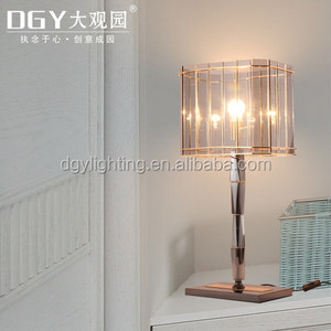 crystal chandelier table lamps luxury for hotel