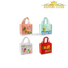 Hot sell educational children colorful handbag 3D diy eva toy