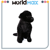 Prompt Delivery And Lovely Black Dog Cartoon Plush Kid Toy