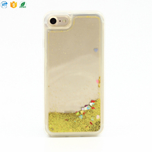 High quality design jewel pattern tpu liquid for i phone 7 phone accessories case