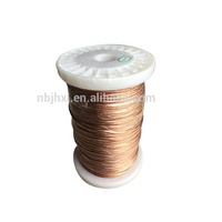 High Quality UL Approval Silk Cover Stranded Enameled Copper Litz Wire motor winding wire
