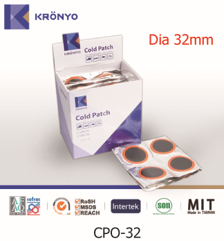 KRONYO tube rubber tyre patch tire repair cold patch bike cold patch