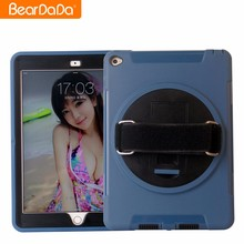 Top Quality 360 Degree hand strap rotating for ipad 2 smart cover