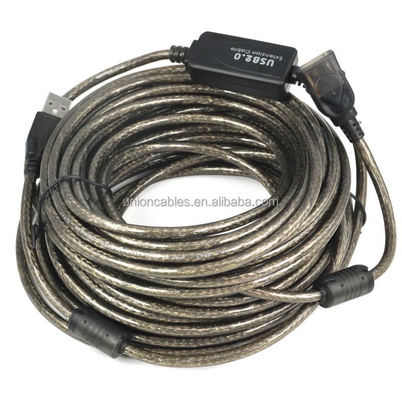 15m LONG USB ACTIVE REPEATER Extension Cable BOOSTER Lead A Male To A Female