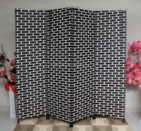 Movable Paper Indian Wood Portable Folding Doors Room Dividers