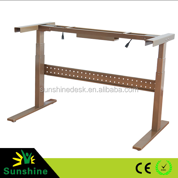 Adjustment lifting table frame Ergonomic sit stand desk Rasing up lifting down desk