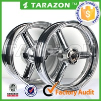 17 inch chrome front rear motorcycle wheel for SUZUKI Hayabusa
