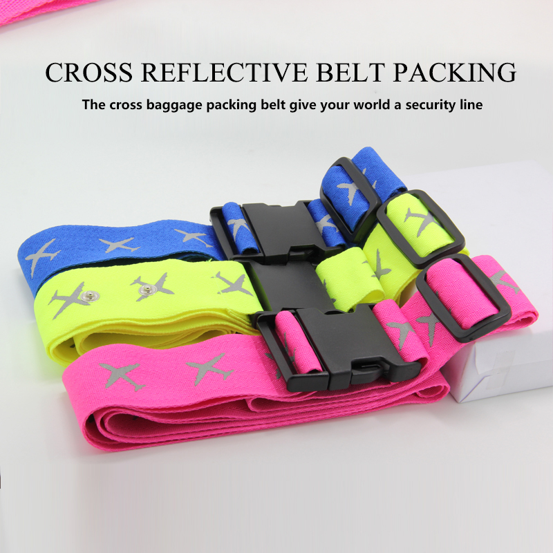 Adjustable Suitcase Luggage Strap Straps Travel Baggage Tie Down Belt Lock sale
