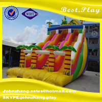 Hot Professional Supplier Inflatable Jumping Slide, Dry Inflatable Slide Toy For Kids