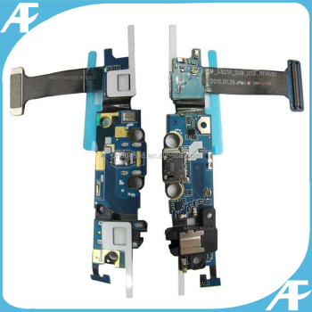 mobile phone dock connector flex for galaxy s6 edge usb charging port flex cable