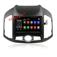 One din car dvd with gps 2G ram+16G rom for Captiva 2014 android 7.1 support DAB+ BT GPS 4G WIFI function