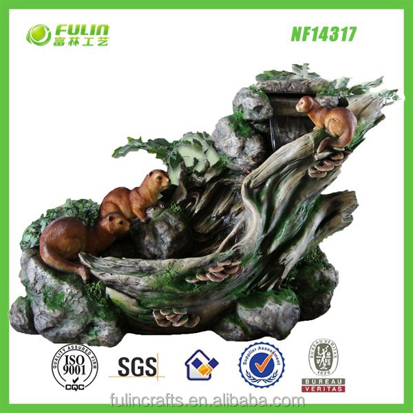 Water Feature Polyresin Outdoor Decorative Fountain