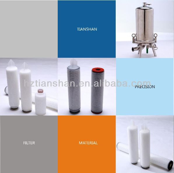 High Pressure PP Membrane Cartridge Filters liquid wax filtration