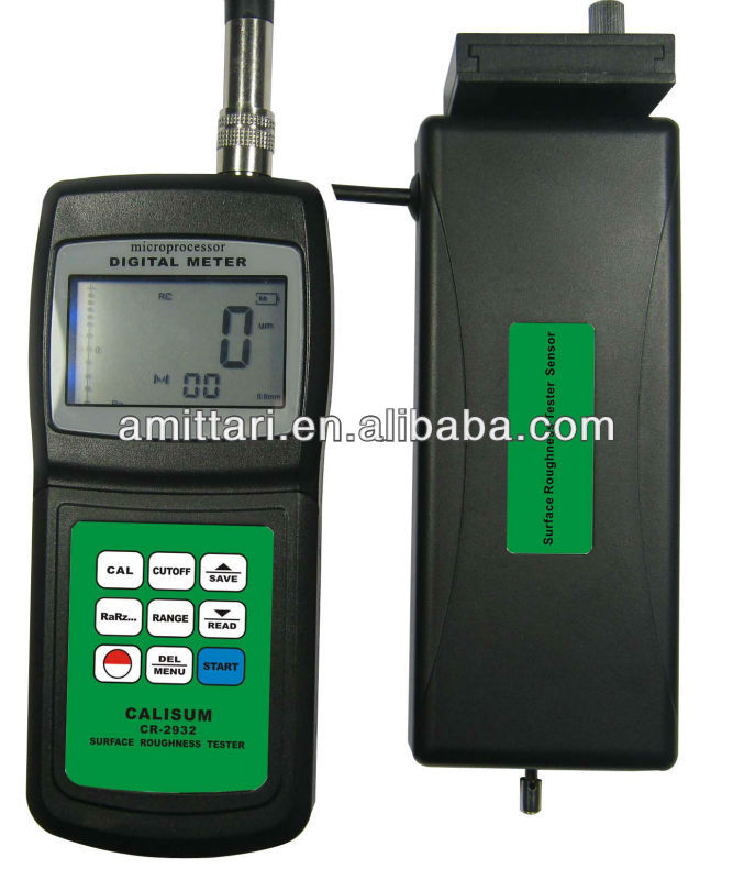 Surface roughness measuring meter tester with Ra,Rz,Rq,Rt CR-4032