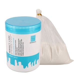 JINGXIN hair dye coloring product professional oxygen decolor lighten bleaching powder price