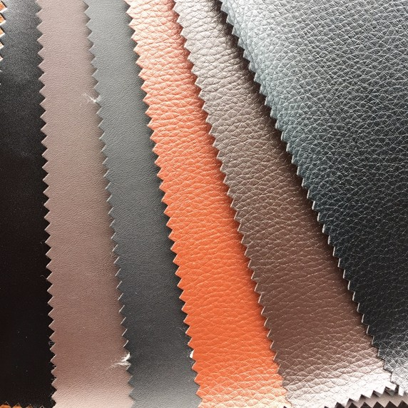 cheap thermo pu finished leather for shoes