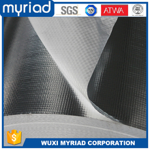 Alu coated silver aluminum foil reinforced heat reflective fabric