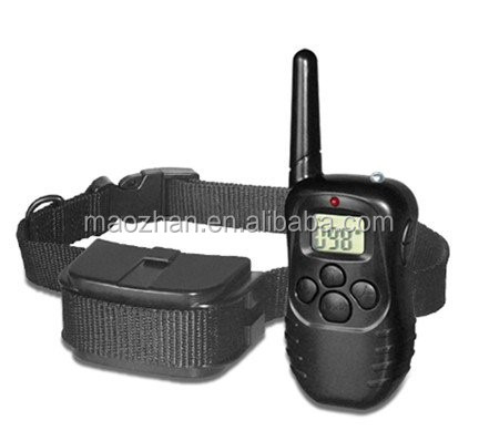 Bark Dog Collar Training System, Electric No Bark Shock Control with 100 Adjustable Sensitivity Control with Manual