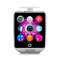 Bluetooth NFC with Camera Support SIM TF Cards Q18 Smart Watch
