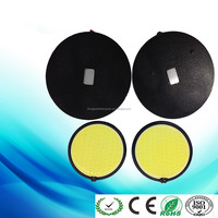 Bright White COB 120 LED Daytime Running Light DRL Headlight Fog Lamp Circular/Round DRL Daytime