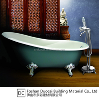 Clear Enamelled Cheap Small Vintage Cast Iron Bathtub (CZ-J021S)