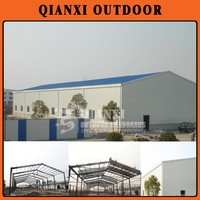 large size steel structure prefab house