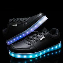 hot sale cheap light flashing running men led shoe sole
