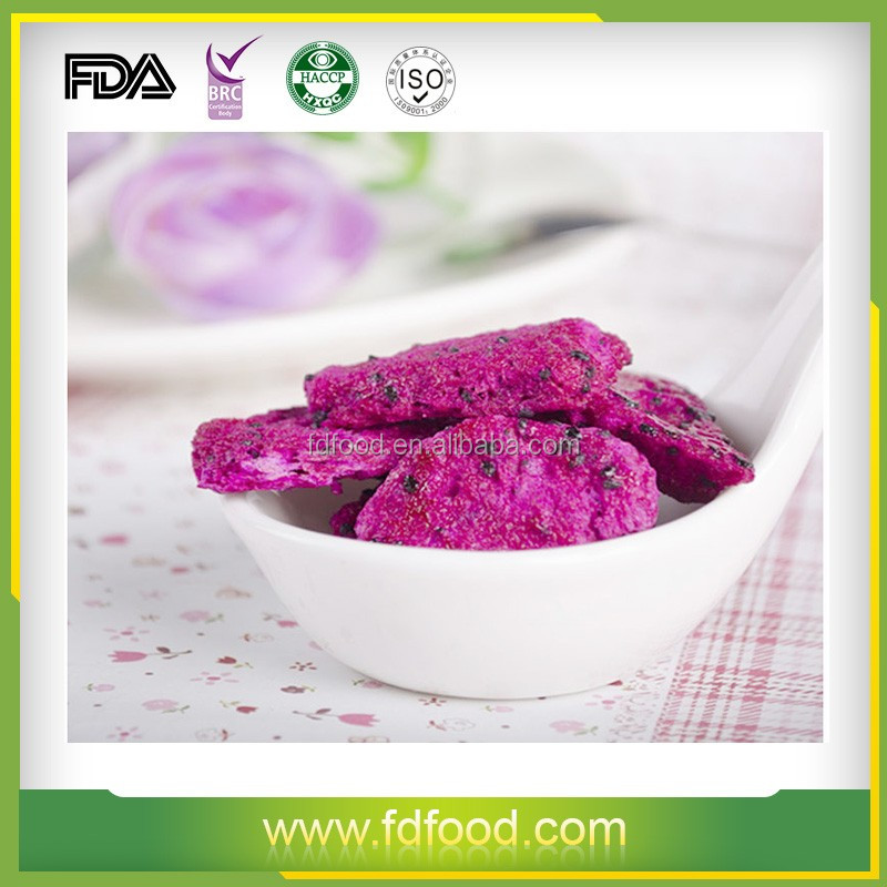 Bulk Packaging Freeze Dried Red Dragon Fruit