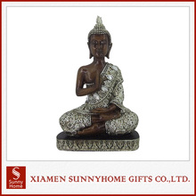 Top Quality Religious Crafts Resin Sitting Buddha Statue