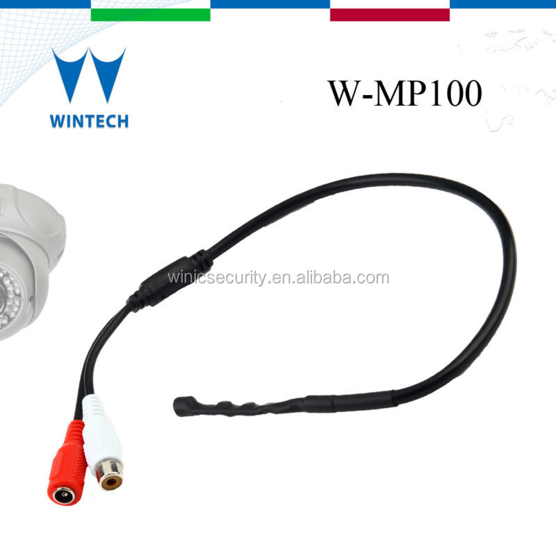 voice audio sound mini pickup for cctv