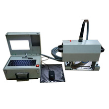 Handheld Mini Laser Dot Peen Engraving Marking Machine for sale